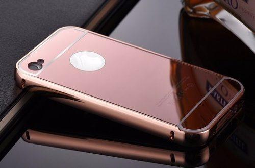 estuche aluminio iphone