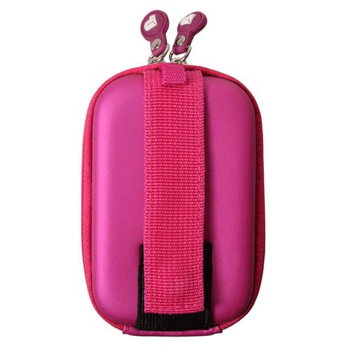 estuche camara port case  colorado camera case pink velvet