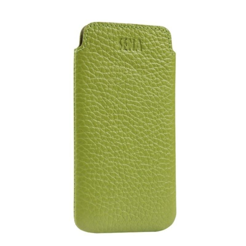 9564b4743af estuche funda cuero iphone 5s 5 iphone se slim verde ta0108. Cargando zoom.