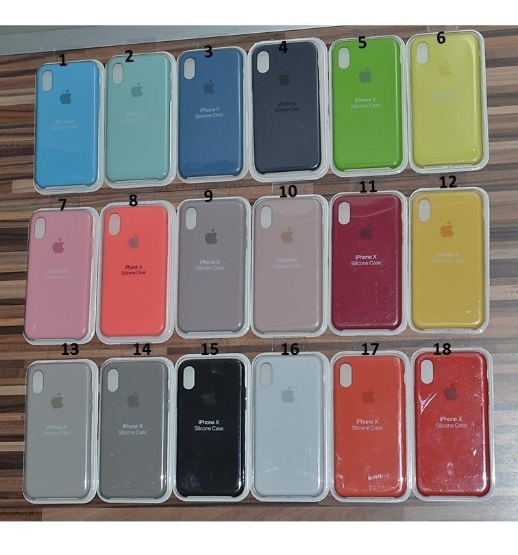 557df783e56 Estuche Funda Silicona Original iPhone 5 6 6s 7 8 Plus X - $ 590,00 ...