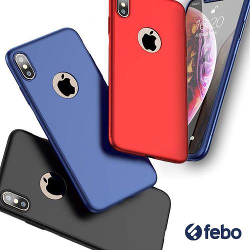 estuche protector full 360 iphone xs max febo