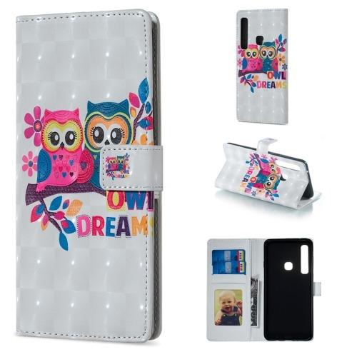 6c438db9e2d Estuche Telefono Para Galaxy Funda Cuero Lovers Owl Funr - $ 1.138,09 en  Mercado Libre