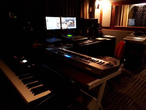 estudio de producción y grabación musical.