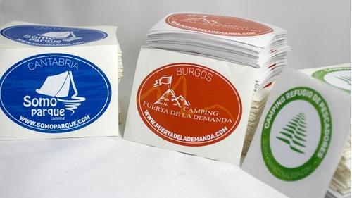 etiquetas adhesivas personalizadas troqueladas