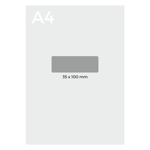 etiquetas autoadhesivas neox 35 x 100 mm - mosca
