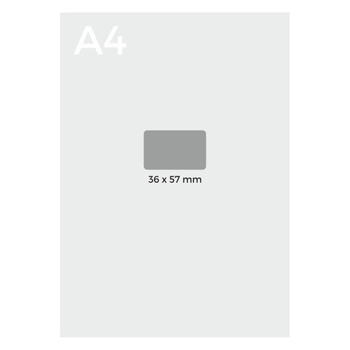 etiquetas autoadhesivas neox 35 x 55 mm - mosca