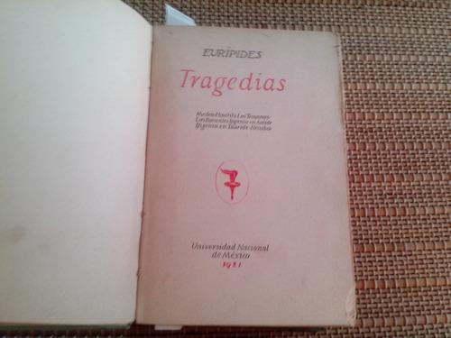 eurípides. tragedias. 1921. pida fotos.