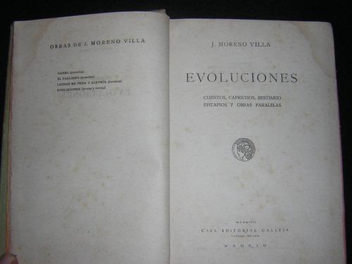 evoluciones - j.moreno villa ; 1918