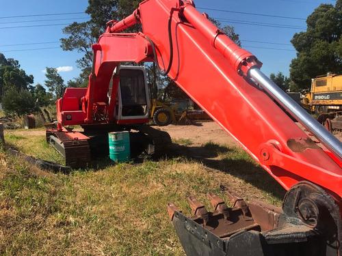 excavadora de bandas fiat hitachi lc 200
