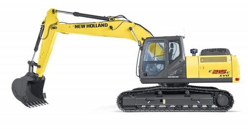 excavadora new holland e 215 c evo 0hs.