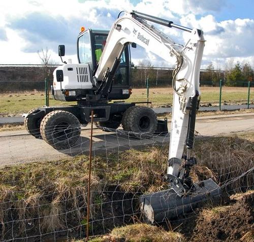excavadora sobre ruedas bobcat nuevas y usadas