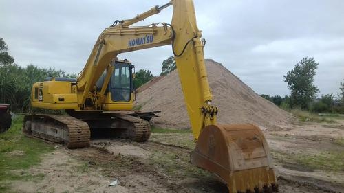 excavadoras sobre orugas  alquiler  con o sin operario