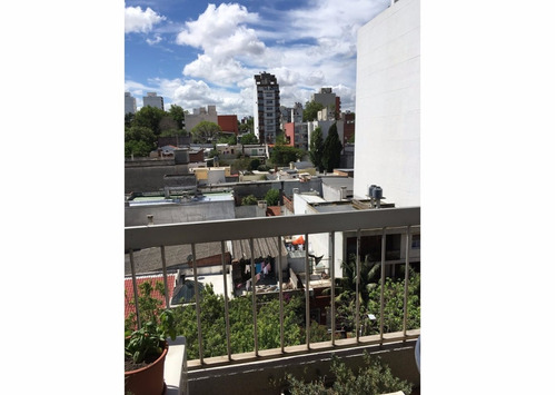 excelente! 6to piso al frente. balcón y terraza lav. gc 4500