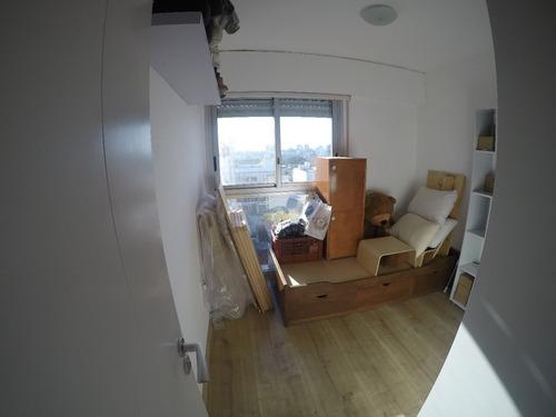 excelente apartamento con garaje y barbacoa a mts del mar