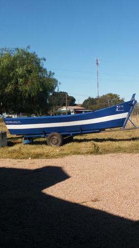 excelente chalana pescadora impecable .bote lancha