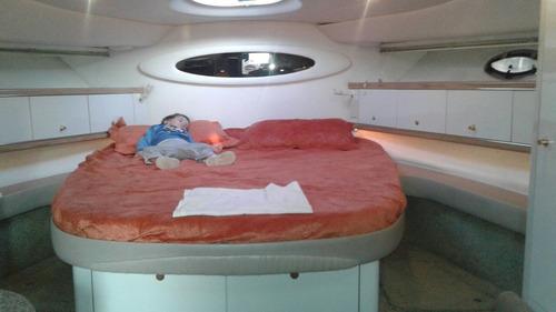 excelente crucero maxum 44 pies 2 cummins diésel 370hp c/u
