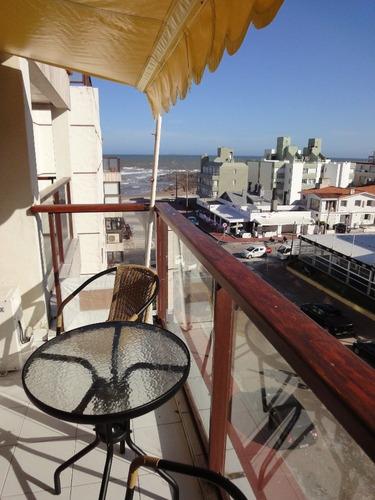 excelente departamento frente a playa el emir