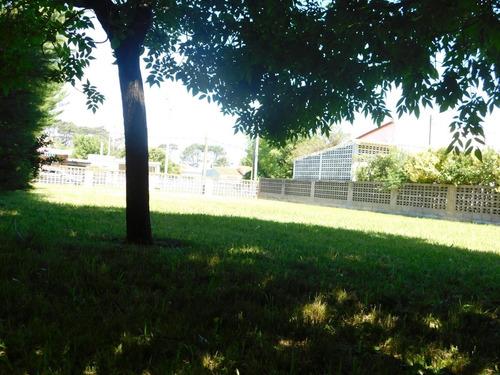 excelente terreno en parque del plata parquizado y limpio