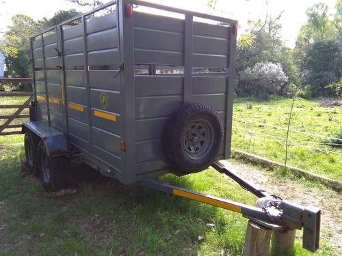 excelente trailer para todo uso muy resistente