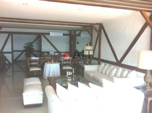 excelente unidad 3 dormitorios frente al mar en torre emblemática. - ref: 3982