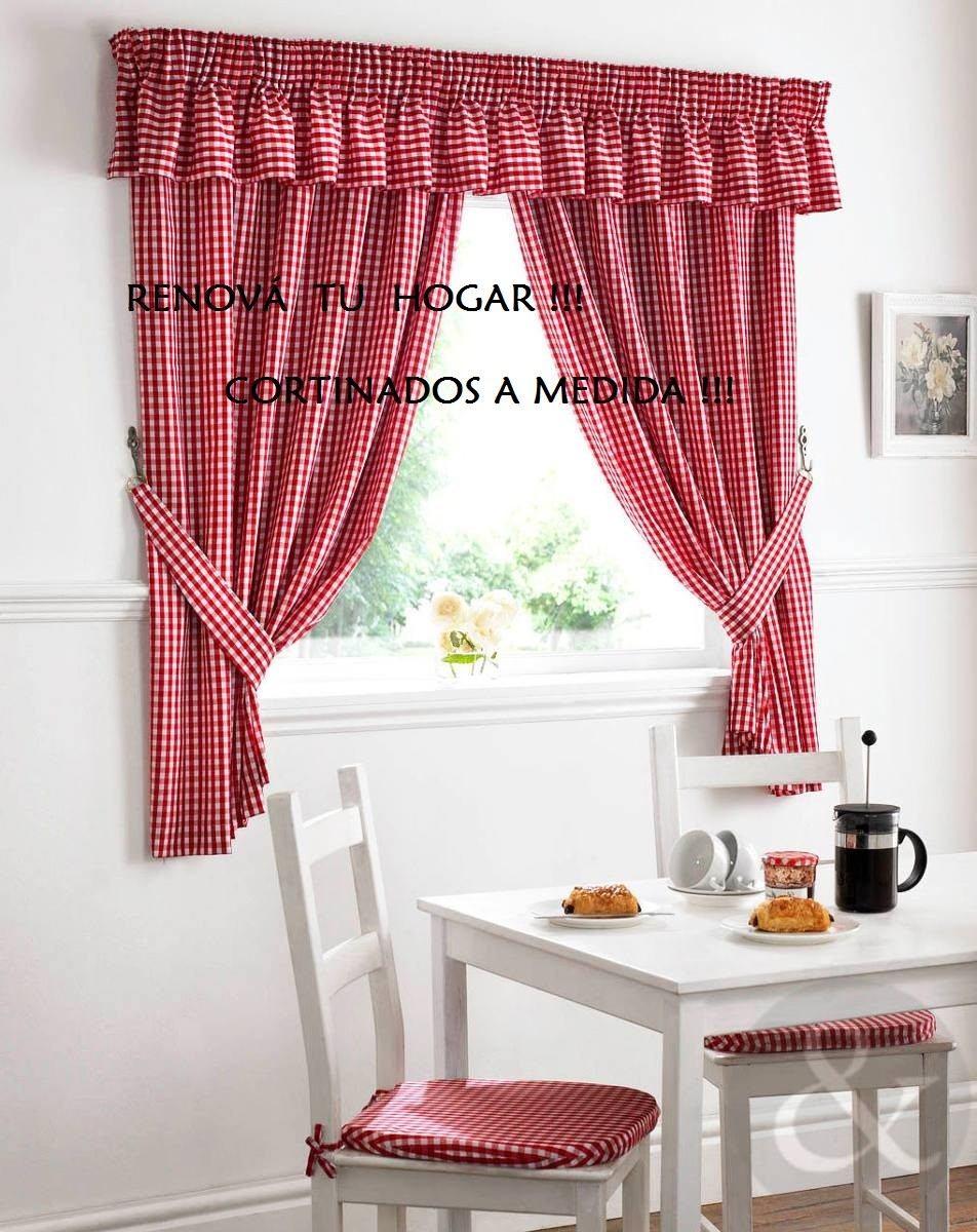 Exclusivas cortinas de cocina preciosas 590 00 en - Cortinas ultimas tendencias ...