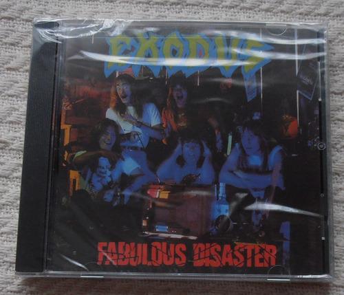 exodus - fabulous disaster (edición u s a)