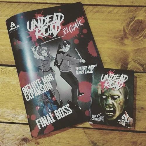 expansión undead road: el cómic