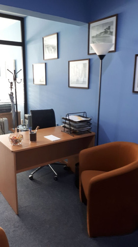 explendida oficina en pent house, monoambiente con privado