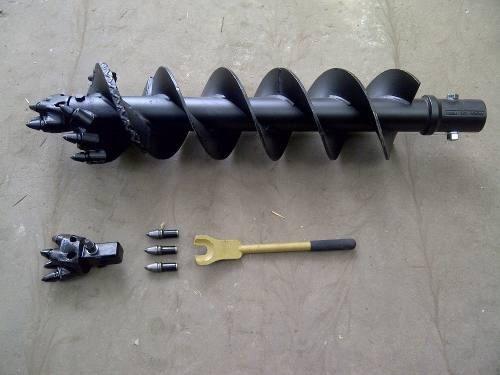 extensiones para hoyadora hidráulica , reforzadas
