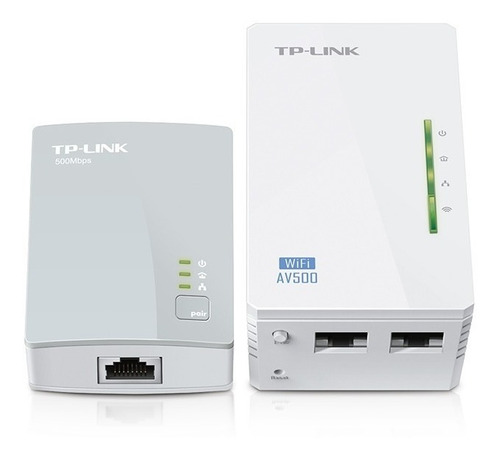 extensor repetidor wifi tplink 4220 kit powerline lidertek