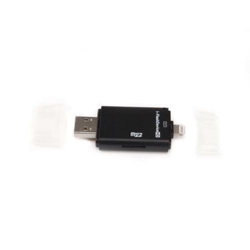 externa micro sd/tf memoria tarjeta lector adaptador usb par