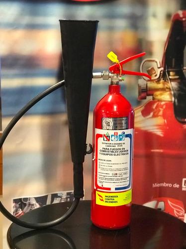 extintor 3.5 kg co2 con soporte nuevos, aprobado unit