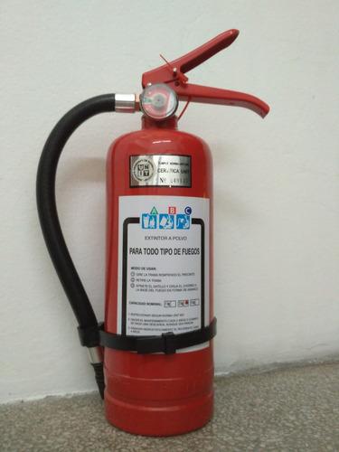 extintor abc 2 kg con soporte nuevos aprobado unit