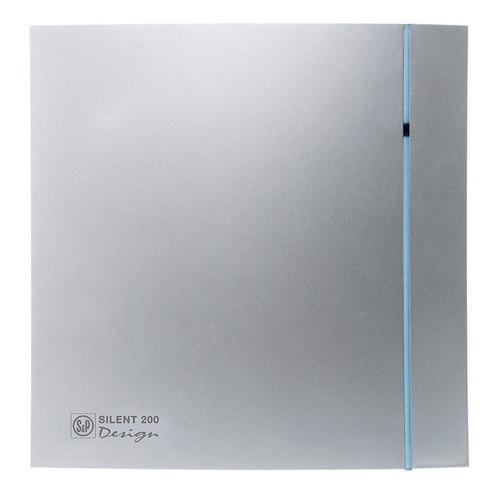 extractor-aire baño soler & palau silent 200crzsilver design