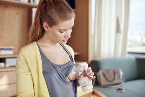 extractor de leche manual + biberon philips avent scf330/20