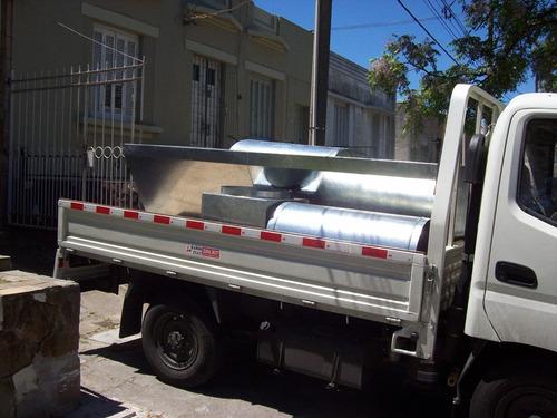 extractores industriales,parrileros,estufas,campanas,ductos