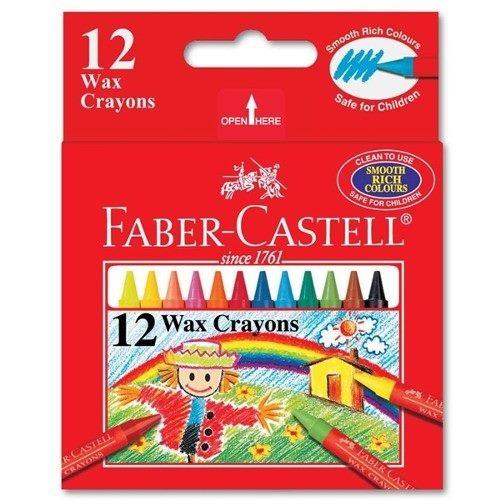faber-castell crayones finos - 12 unidades - mosca