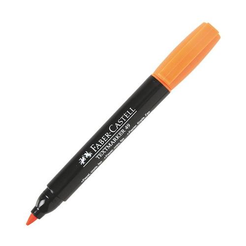 faber-castell marcador textmarker 49 - naranja - mosca