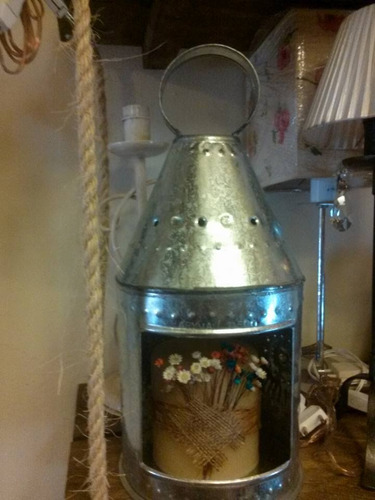 fabrica adornos artesanal hojalata,chapa,cobre,decoracion