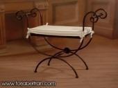 fabrica muebles hierro,decoracion interiores,banqueta,sillas