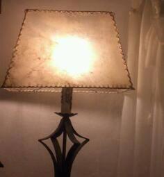 fabrica pantallas imitacion lonja natural,iluminacion,decor.
