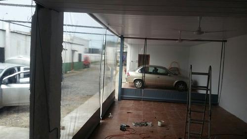 fabricación a medida de cerramientos en lona y pvc
