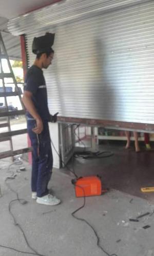 fabricación de cortinas metalicas