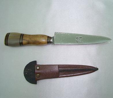 facas acero tandil  x 12 cm