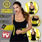 faja con velcro power belt deportiva sudadera reductora: 3+1