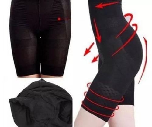 faja  modeladora - sin breteles -  color negro - talle m