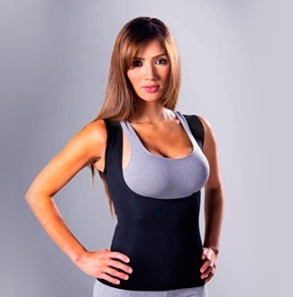 faja remera reductora de neotex - redushaper hot