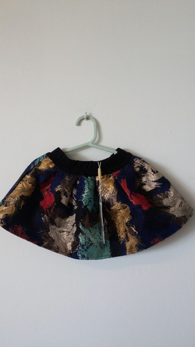 falda pollera de nena importado famosa marca