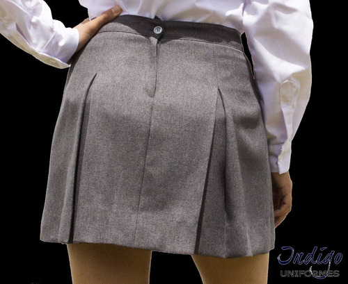 falda pollera liceal o escolar varios colores