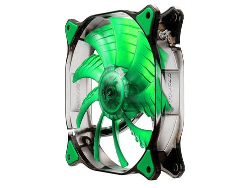 fan ventilador led 12cm cougar cf d12hb-g verde